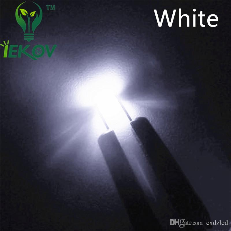 SMD 0603 Pure White led Super Bright Light Diode 3.0-3.2V Water Clear 5500-6500K High Quality Chip lamp beads DIY Retail