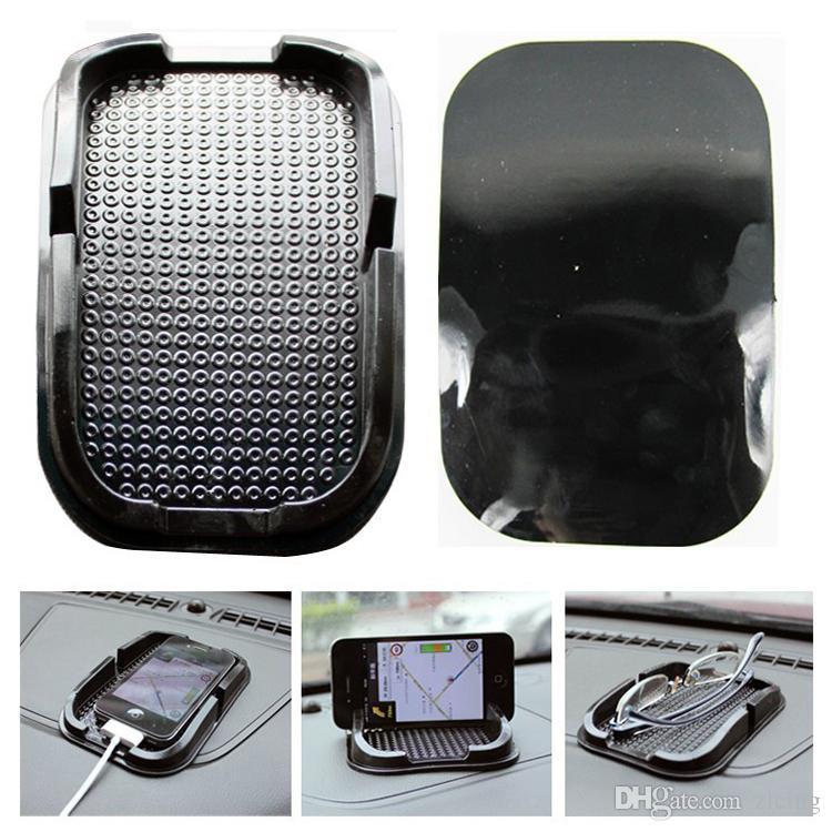 Multi-funzionale auto Anti Slip pad PU gel Scaffale Del Telefono Mobile Tappetino antiscivolo GPS / IPhone / Cell Phone Holder 50 pz / lotto spedizione gratuita