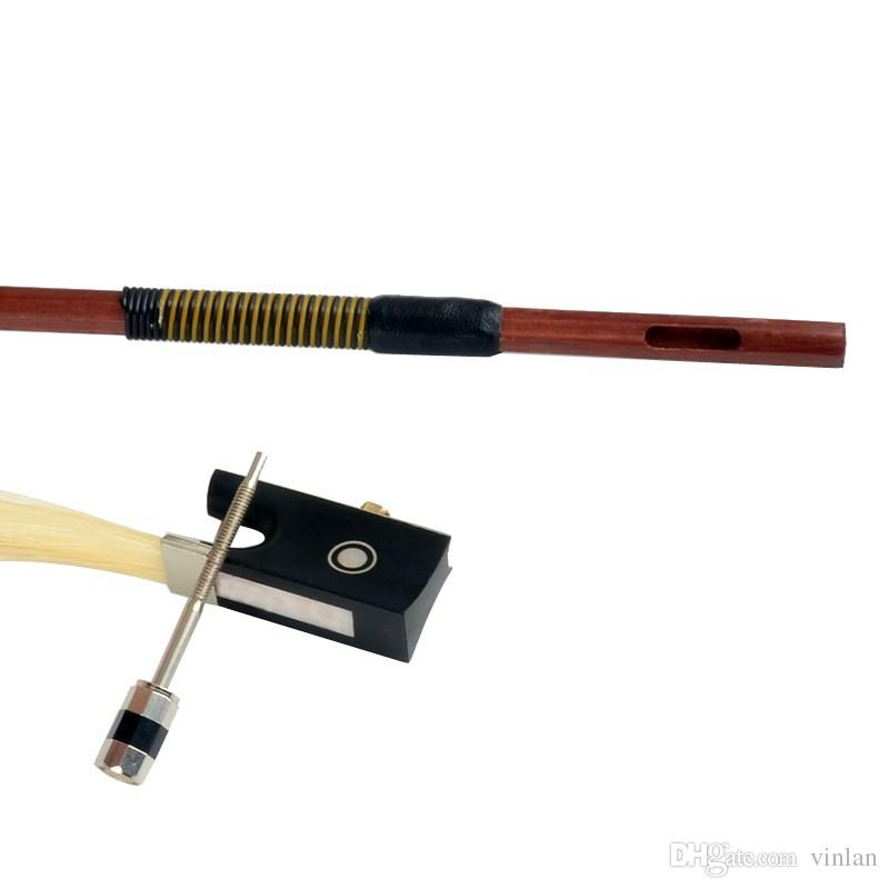 High quality B4/4 violin bow size 4/4 violino Horse hair violin accessory brazilwood bow accessories para violino
