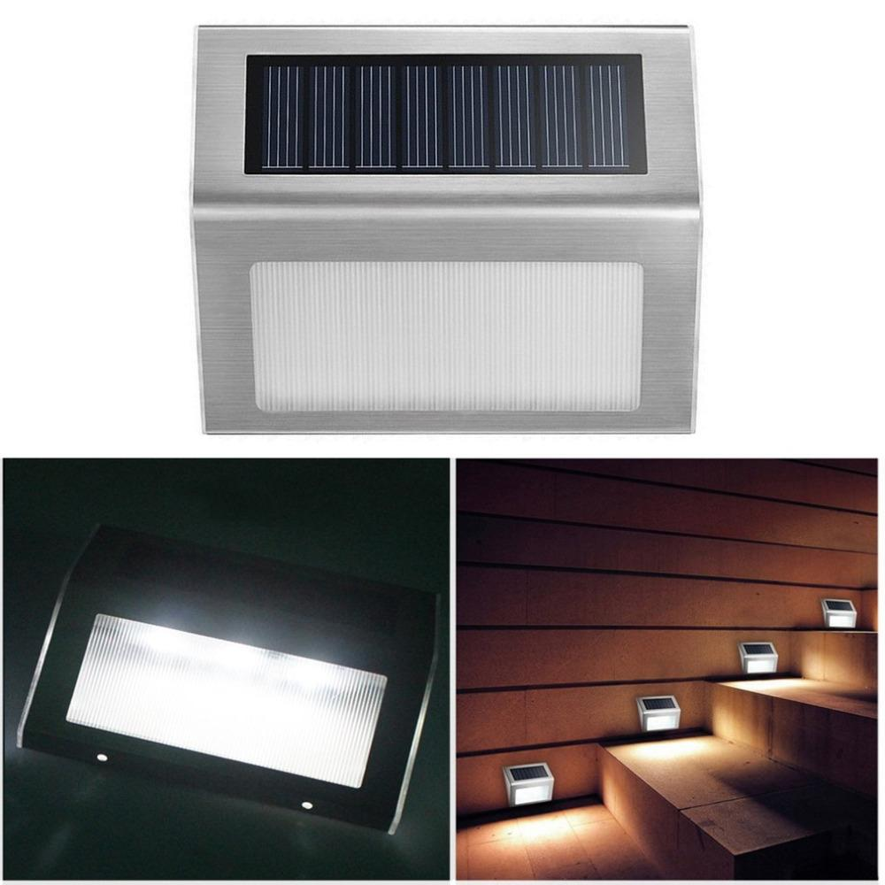 2018 wholesale waterproof stainless steel solar 3 led wall fence 2018 wholesale waterproof stainless steel solar 3 led wall fence light outdoor garden floor entrance lamp corridor stairs corner light hot from amarylly aloadofball Images