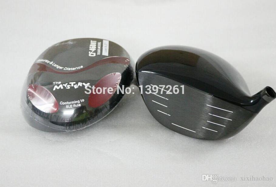 Новый гольф головы тайна CF - 460ht Титана Гольф драйверы 10.5 или 9.5 лофт гольф-клубы головы нет драйверов вал бесплатная доставка
