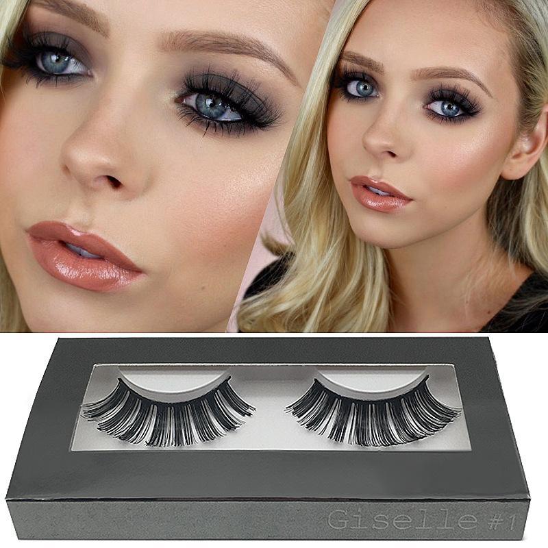 False Eyelashes 20 Model Eyelash Extensions Handmade Fake Lashes