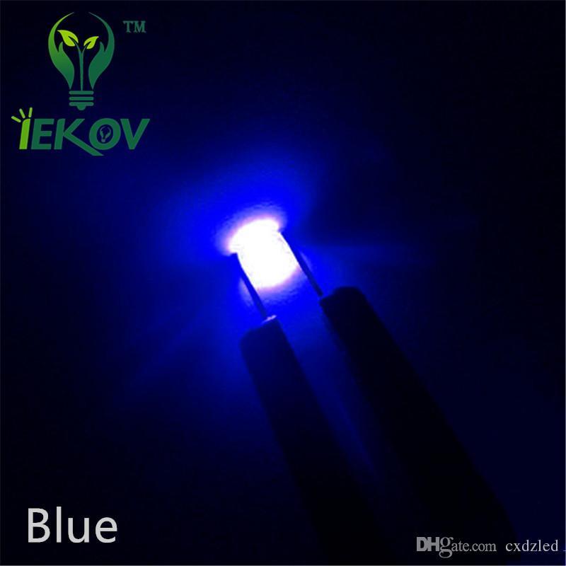 /bag SMD 1206 Blue led Super Bright Light Diode 3.0-3.2V DIY 465-475nm High Quality SMD/SMT Chip lamp beads Retail
