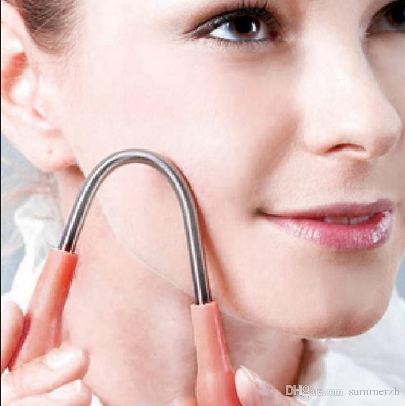 Wholesale Bend Facial Hair Remover Facial Threading Shaving Epilator Spring Hair Remover Super Stick Personal Care Tool