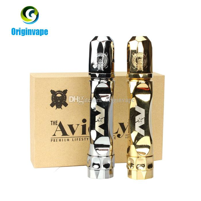 Avid Lyfe Gyre Mod With RDA Full Set Kit Twistgyre Mechanical Mods Clone Stainless and Golden Colors DHL