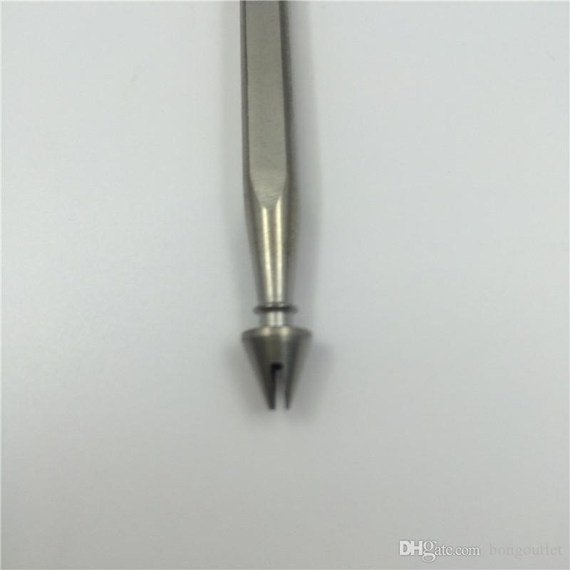 Spezielle Art domeless justierbarer Titannagel-Titandabble-Ölplattformen-Titannagel für Großhandelskäufer des rauchenden Tabaks ESTN066