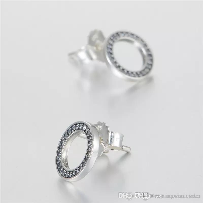 05135b452 ... ireland circle earrings silver 925 sterling forever fits for pandora  style jewellery h9ale pandora earrings silver