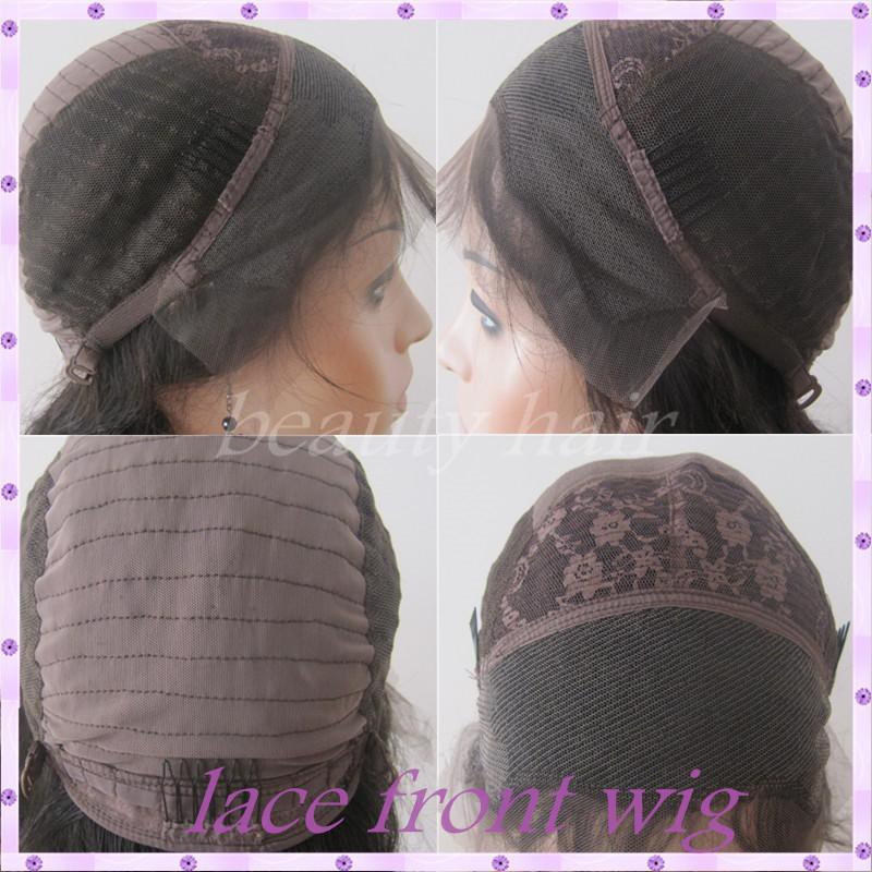 Volle Spitze-vordere Spitze-Menschenhaar-Perücken für schwarze Frauen Brasilianische Jungfrau-Haar-Glueless volle Spitze-Haar-Perücke mit den natürlichen gebleichten Knoten