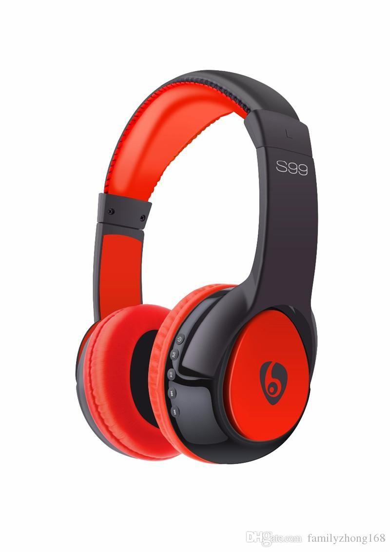 Latest S99 Hi Fi Bluetooth Headset Wireless Headphone Stereo Earphone Gaming Headset Music Headphones For Mobile Phone Com Puter Mp3 32 Em