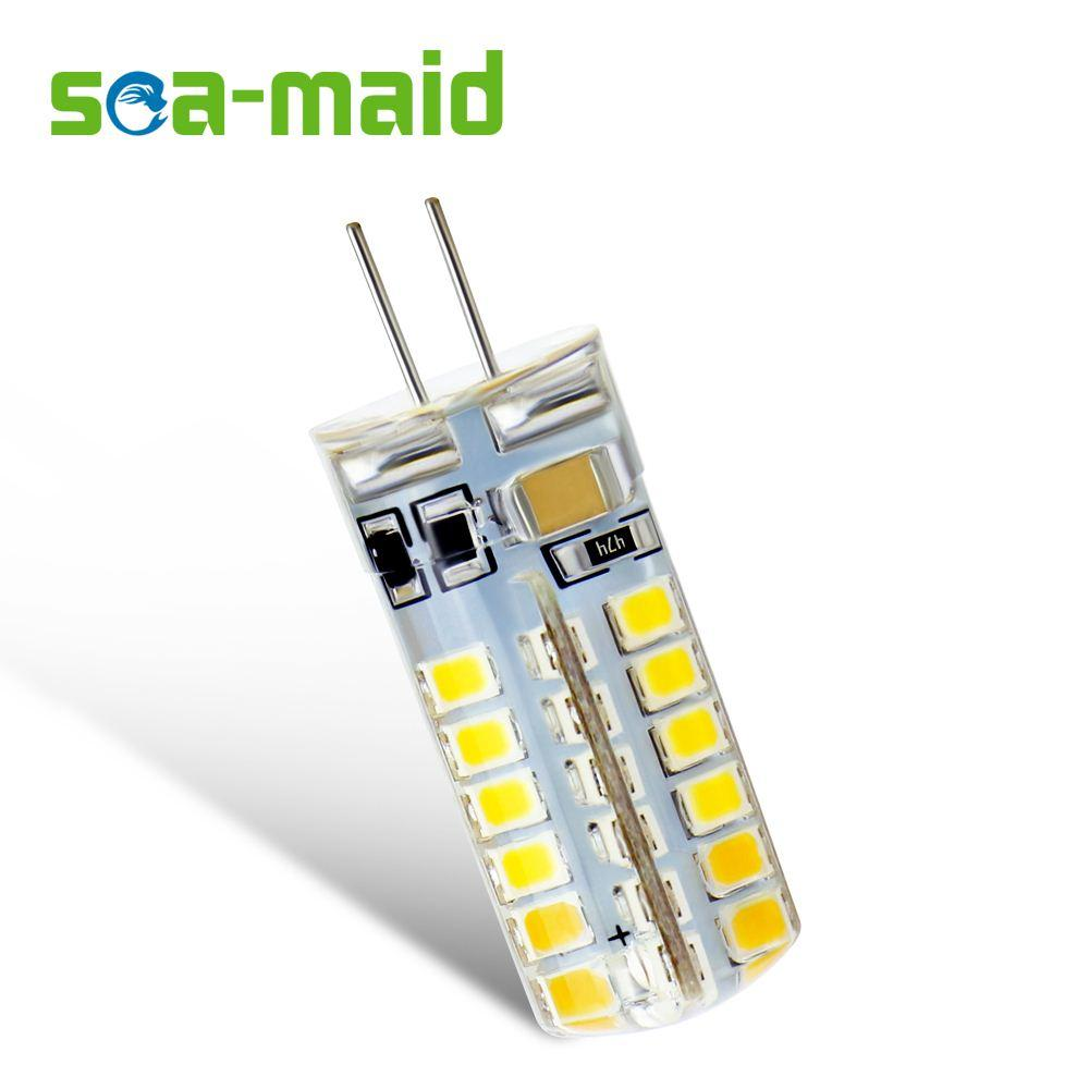10PCS Energy Saving 220V LED Lamp bulb Replace 7W 12W 15W 20W 25W 30W Fluorescent Light 2835 LED 24 48 SMD G4 LEDs lampada led