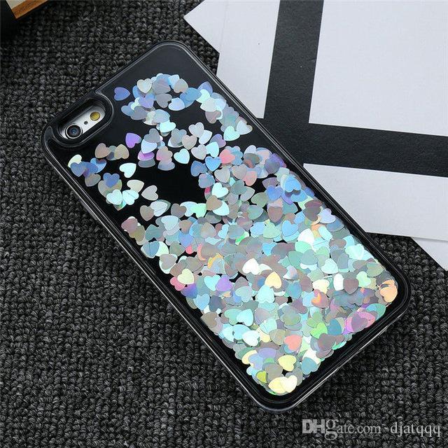 Glitter Quicksand Case For iPhone 6 6S Plus iPhone 7 Cases Phone Cover For 6 6S iPhone 7 Plus Case Girl Women Accessories