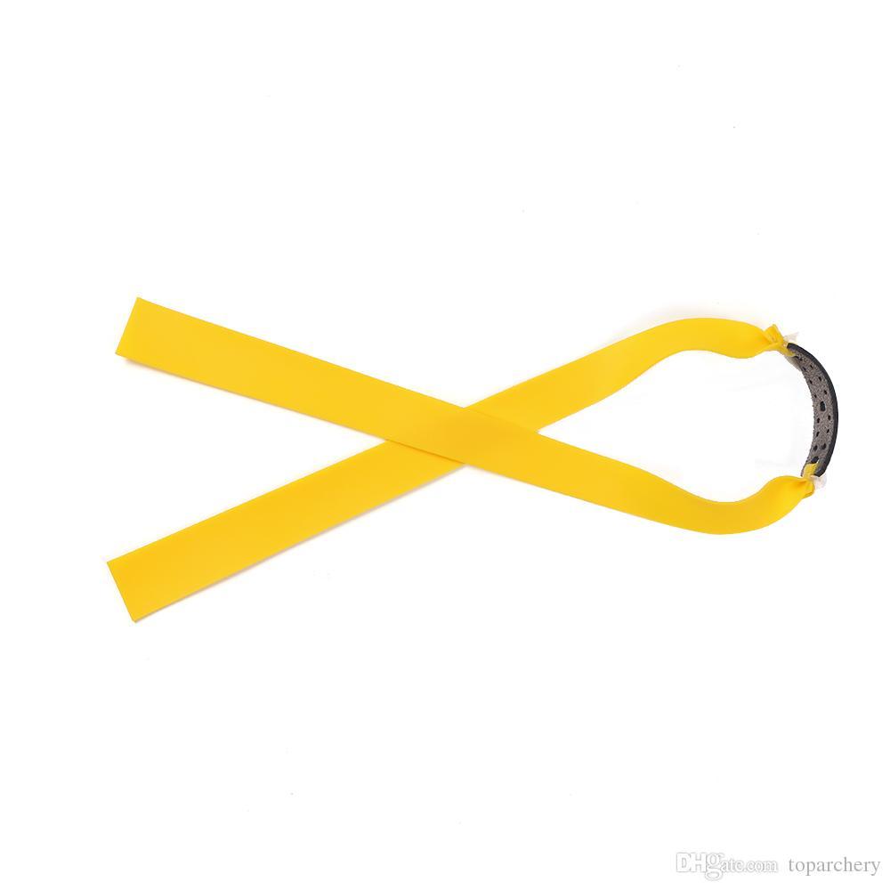 Slingshot Catapult Professional Puissant Magnésium avec double point de visée Lampe à bande plate en caoutchouc Chasse légère Sling Shot Tir à l'arc