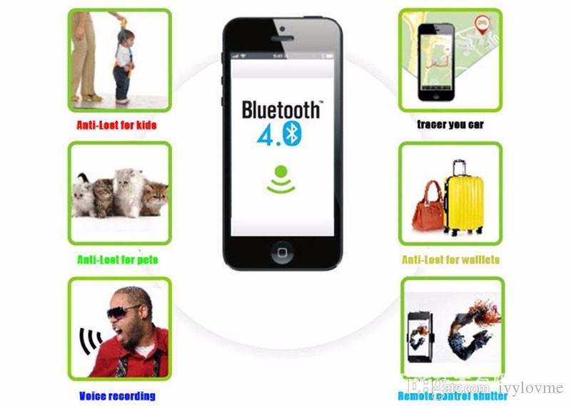 iTag Kind Tracer intelligente Schlüsselfinder Bluetooth Keyfinder Tracer Locator Tags Anti verloren Alarm Brieftasche Haustier Hund Tracker Selfie für IOS Android