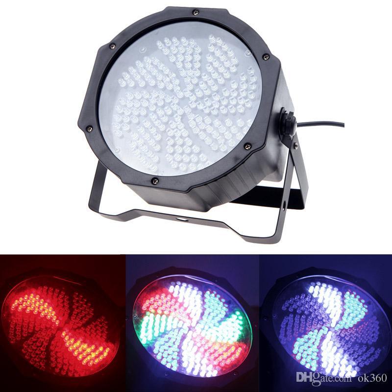 8 Channel RGBW LED Stage PAR Light Lighting Strobe Party Disco Bar DJ KTV Show 25W AC 90-240V All color DMX512 Stage Light