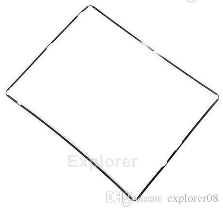 جديد البلاستيك منتصف الإطار مدي المتوسط مع لاصق أسود أبيض لباد 2 3 4 الإطار الأوسط الحافة التي لوط