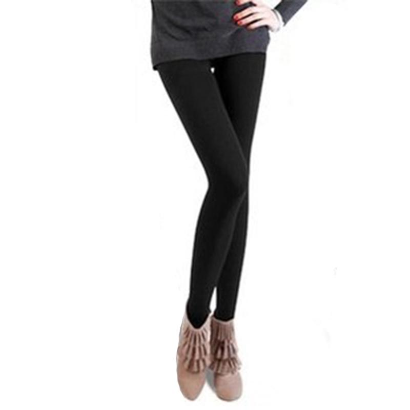 b4ffa2822bda10 2019 Wholesale Slim Leggings Women Autumn Winter Warm Legging Brushed  Lining Stretch 95%Polyester Pants Women Leggings Super Elastic From  Blueberry07, ...