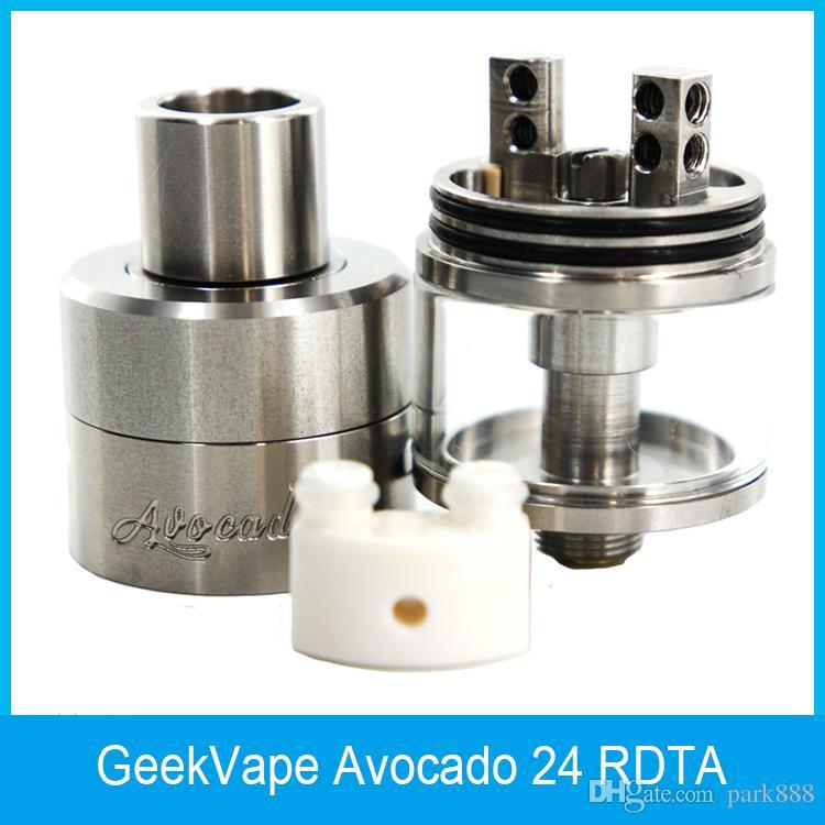 2016 GeekVape Avocado 24 RDTA Atomizer 5ml Avocado 24 Tank with Velocity deck with Hinge lock fill system 100% Original