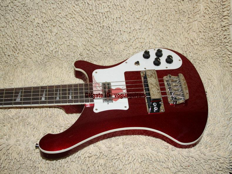 new custom 4003 electric bass 5 strings electric bass guitar red new style top musical. Black Bedroom Furniture Sets. Home Design Ideas