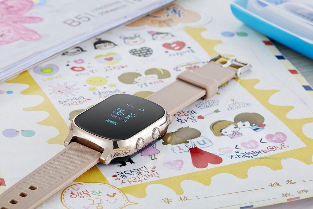 2016 New GPS Tracker Smart Watch T58 Kids GPS Watch Google Map SOS Anti Lost GSM Locator Children Smart Bracelet Better Q50 Q60