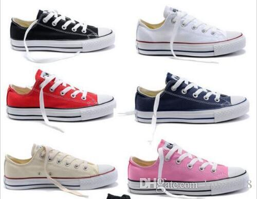 2017 New Star Big Size 35 46 Casual Shoes Low Top Style Sports Stars Chuck  Classic Canvas Shoe Sneakers Men S Women S Canvas Shoes Sneakers Online  Deck ... 3ffa3e32c