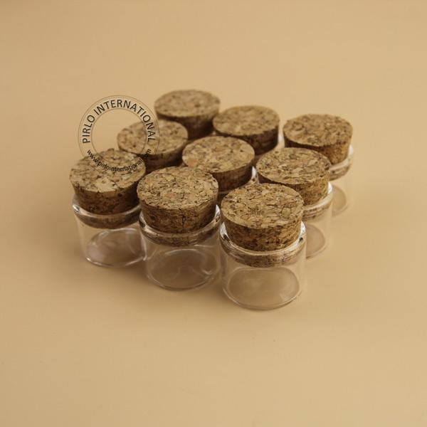 40 40g Mini Small Glass Bottles Vials Jars With Corks Stoppers Cool Decorative Glass Bottles With Stoppers
