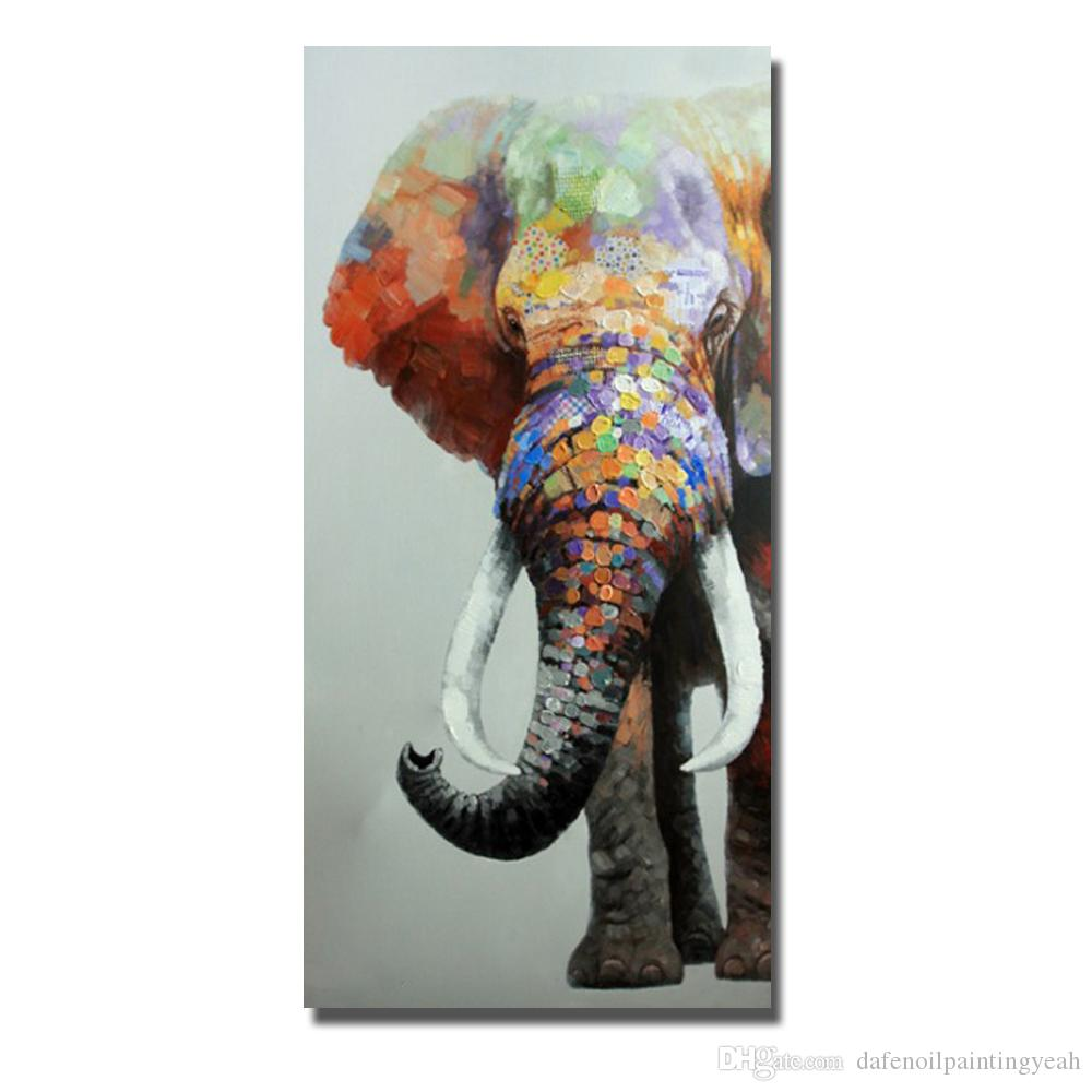 2018 Elephant Wall Art Home Decor Living Room Wall Pictures Abstract ...