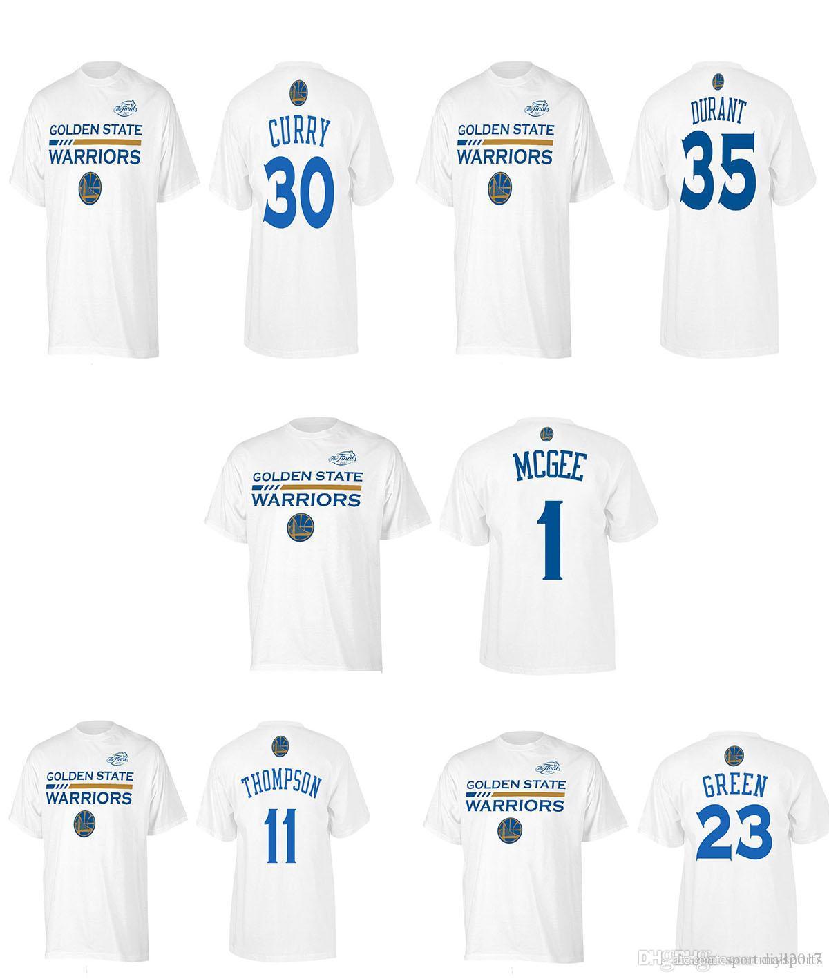 Design t shirt online usa - 2017 Usa Basketball T Shirt Curry Mcgee Kevin Durant Golden State White Finals Bound Gametime Shooter Warriors T Shirt Design T Shirts Online Order T Shirts