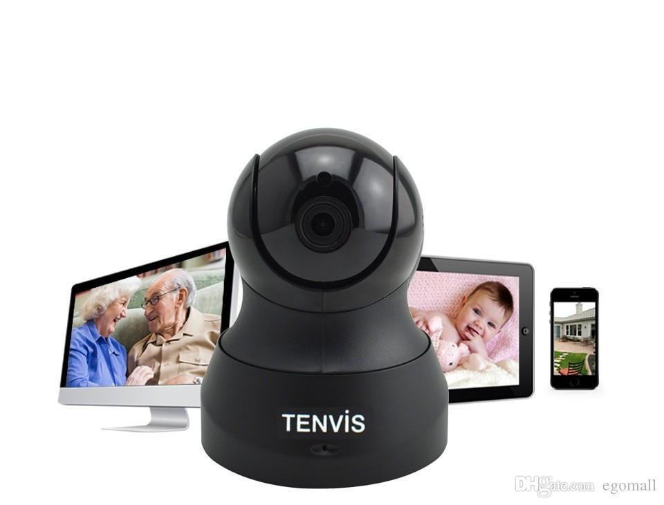 Appareil photo Tenvis IP Baby Monitor 720P sans fil WIFI Pan / Tilt Onvif PTZ Caméra P2P Tech pour Smartphone CCTV Security