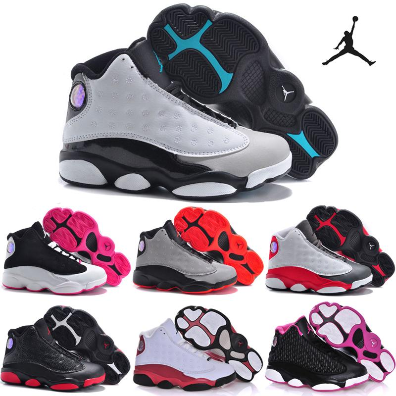 24b0179142fd25 nike air jordan xiii 13 shoes for girls boys Free shipping ...