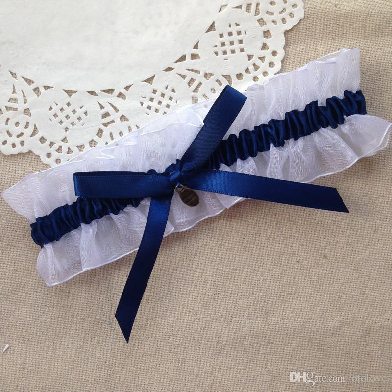 Navy Blue Wedding Garter Sexy Bridal Garter Sexy Garters