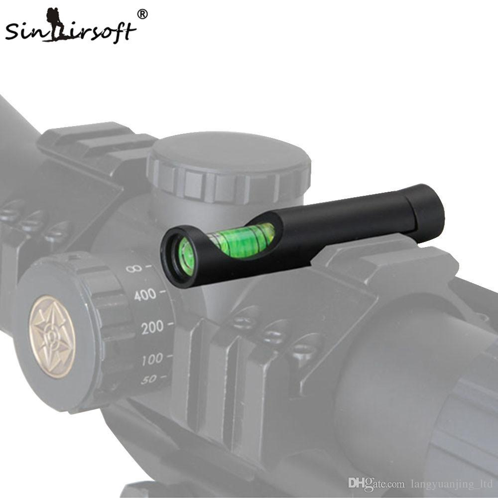 NEW Bubble Spirit Level Trilho 20mm Dovetail Picatinny Weaver Rail Base Rifle Scope Level For Riflescope Airsoft Scope Mounts Accessorie