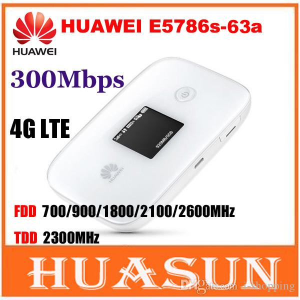 Huawei E5786s-63a 4G LTE Cat6 UNLOCKED Mobile WiFi Hotspot Wireless Router Modem