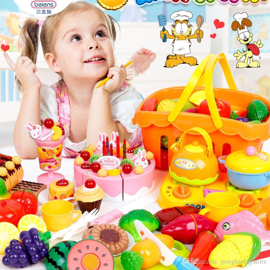 Großhandel Beis 37 Teile / Satz Kunststoff Küche Lebensmittel Obst ...