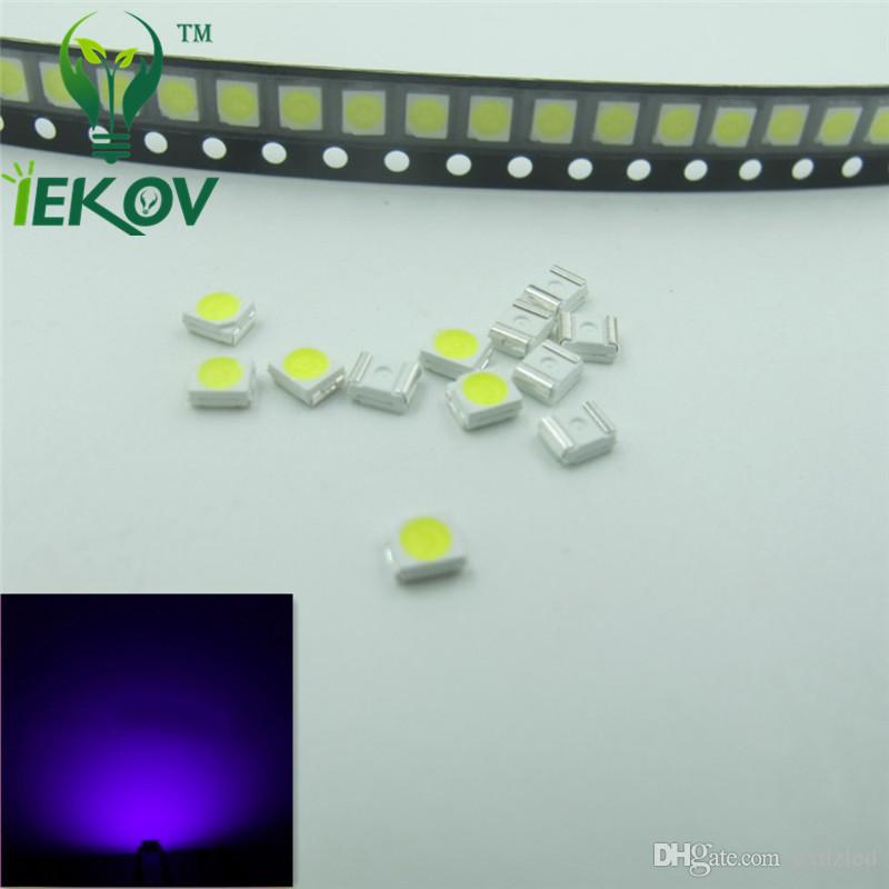 PLCC-2 1210 3528 Purple/UV LED SMD Ultra Bright Light Emitting diodes 3.0-3.2V High quality SMD/SMT Chip lamp beads