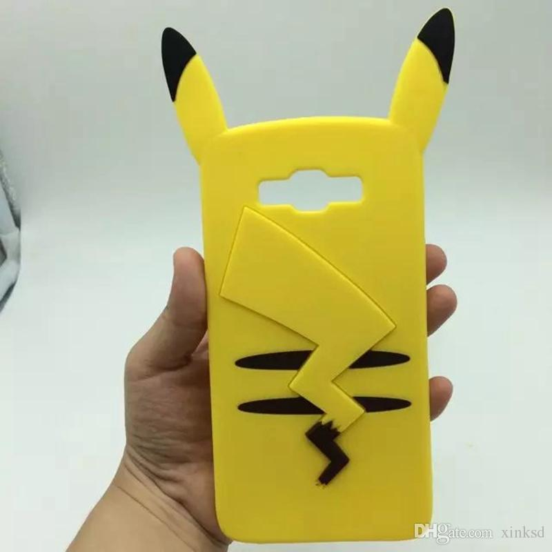 samsung galaxy s5 cute phone cases. cool 2016 new fashion 3d cartoon pikachu cute soft cover back phone case for samsung galaxy s5 s6 s7 a5 j1 j3 j5 j7 grand prime duos ace 4 g313h phones cases