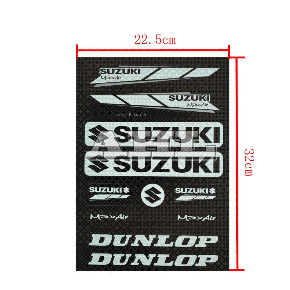PcsMotorcycle Stickers Decals For Suzuki Motorcycle Sticker And - Suzuki motorcycles stickers