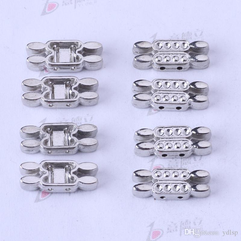 Retro plata / bronce DIY mano colgante de la joyería de la escama puede Diamond Fit collar o pulseras / 3320