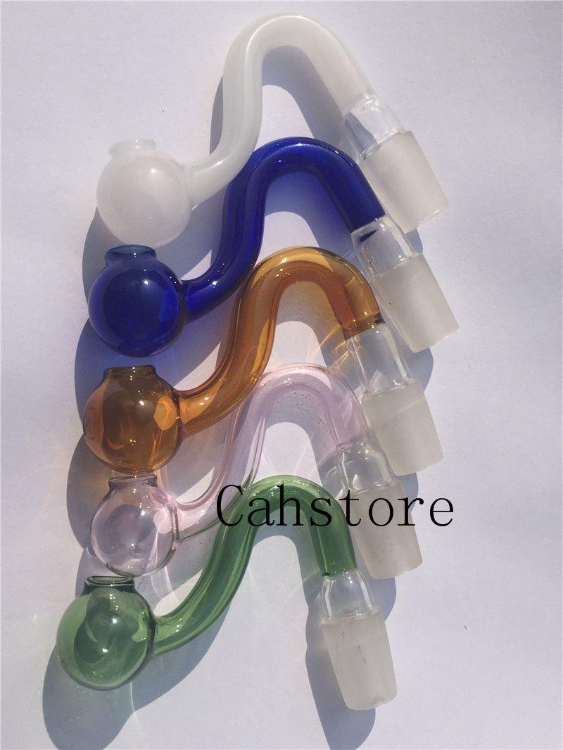 Colorido tazón de vidrio macho de 14 mm para bongs Tubos de vidrio Bong Star Screen embriagadora Tazones de 14.5 mm para bongs