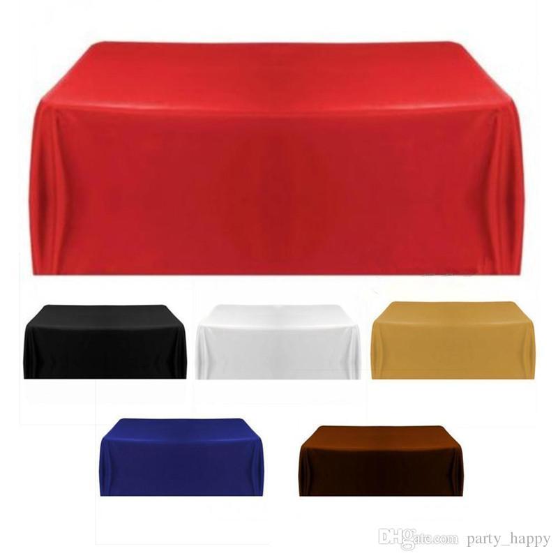 Nappe De Table De Couverture Pour Le Banquet De Noce Décor À La Maison De Mariage En Plein Air De Longue Nappe De Table De Tissu De Banquet De Mariage De Décoration