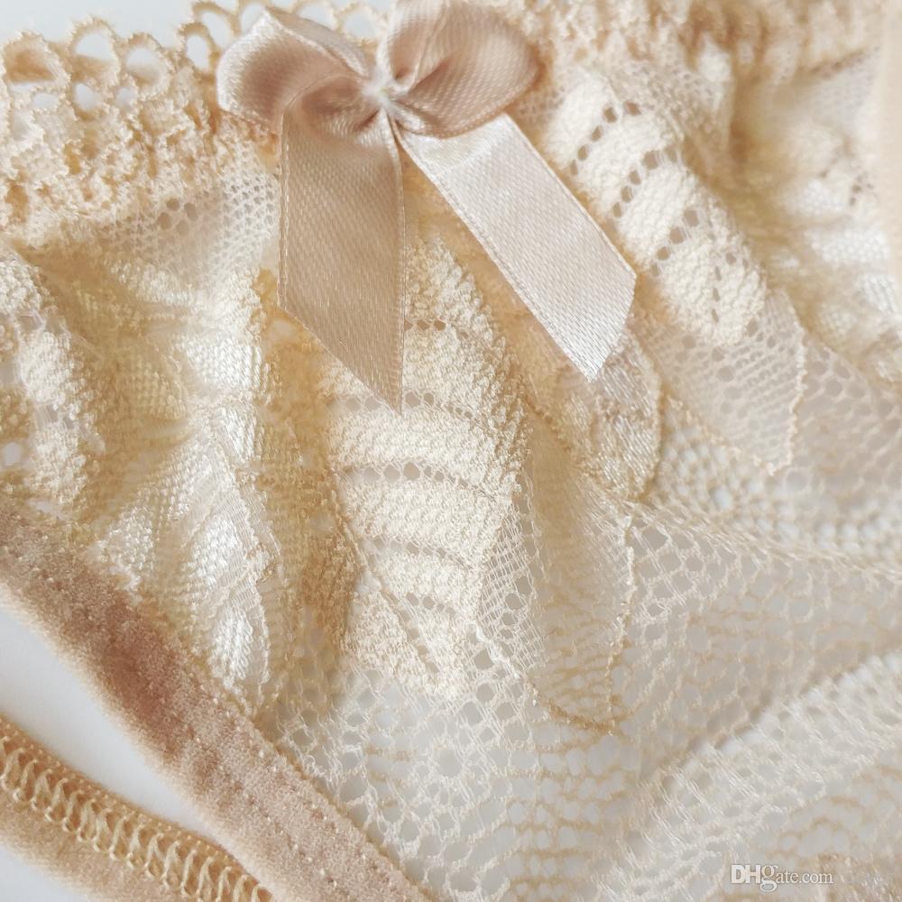 Молодые девушки Прекрасные стринги т трусики бикини кружева низкие талии лук G-струны полые спагетти нижнее белье v девочка близкие трусики 8 цветов 9616