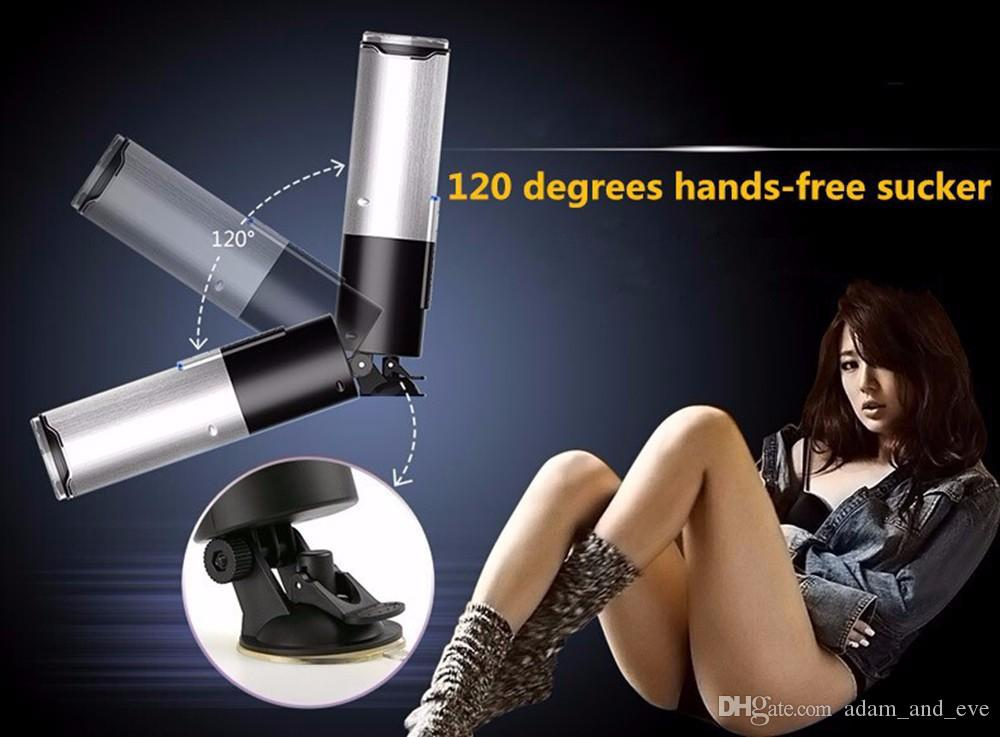 Leten X9 Piston Hands Free 10 Funzione USB ricaricabile maschio automatico Masturbatore Sex Machine giocattolo del sesso gli uomini