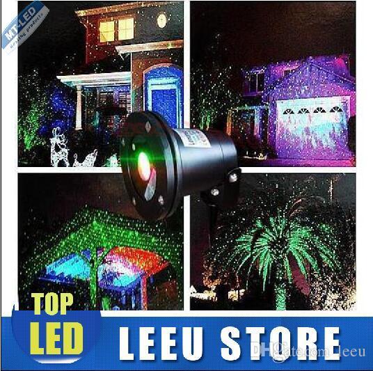 XOutdoor Ip44 Water Proof Laser Light Red Green Firefliles Effect  - Christmas Light Laser Projector