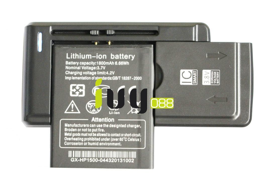 100٪ الأصلي بطارية 1800mAh بطارية ليثيوم أيون + العالمي USB شاحن الجدار للحصول THL W100 W100S