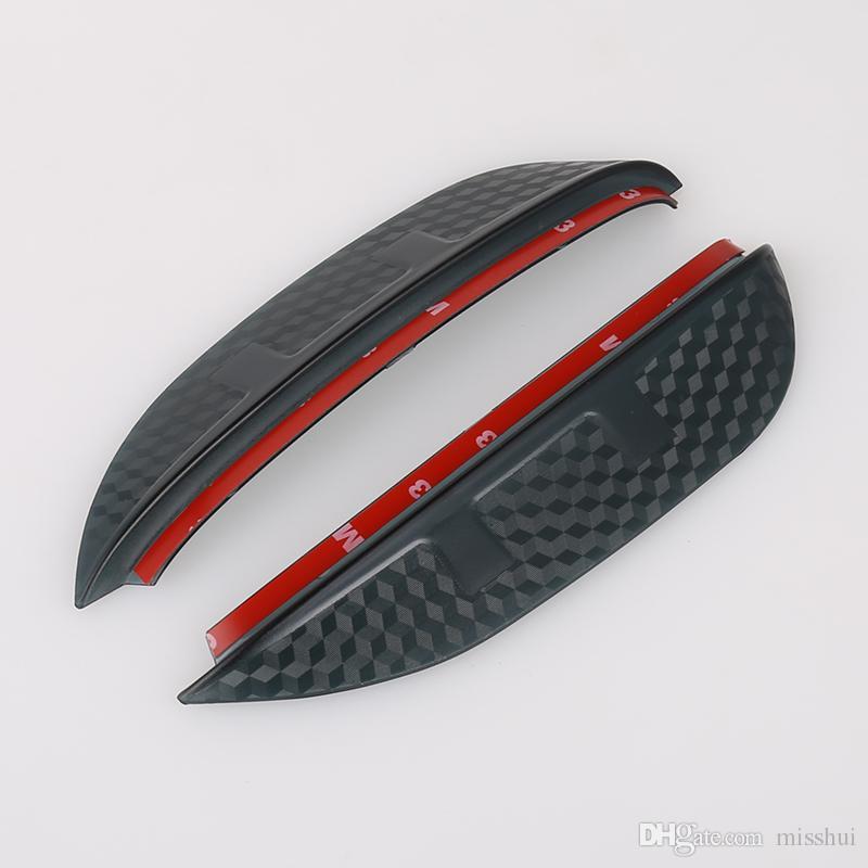 자동차 스타일링 카본 백미러 비 눈썹 방수 유연한 블레이드 프로텍터 액세서리 스바루 XV 2014