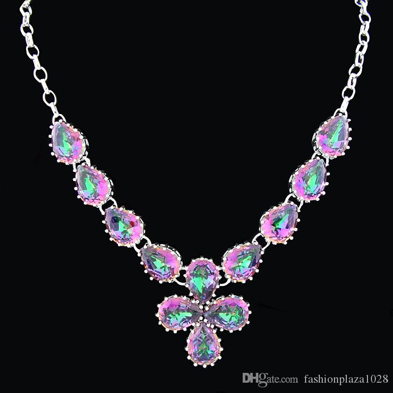 New Real Direct Selling Tennis, Graduated Gift Dragon Pendants Pendant Natural Gemstone Sterling Silver Jewelry Necklace M001