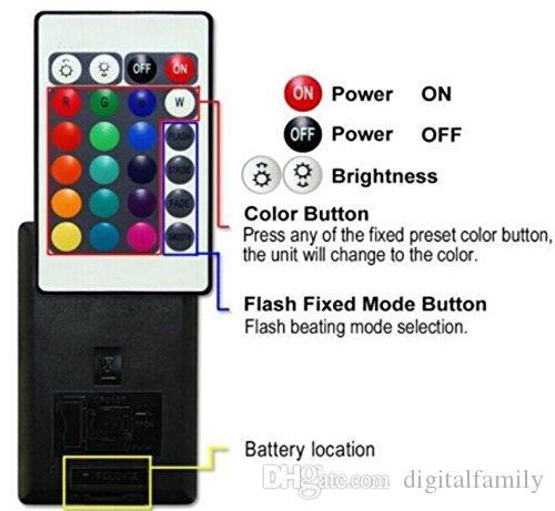 Más brillante 5 LED de luz de inundación 250 W RGB Cambio de color Seguridad de ahorro de energía Punto de luz Luz interior Interior para patio Patio Estacionamiento