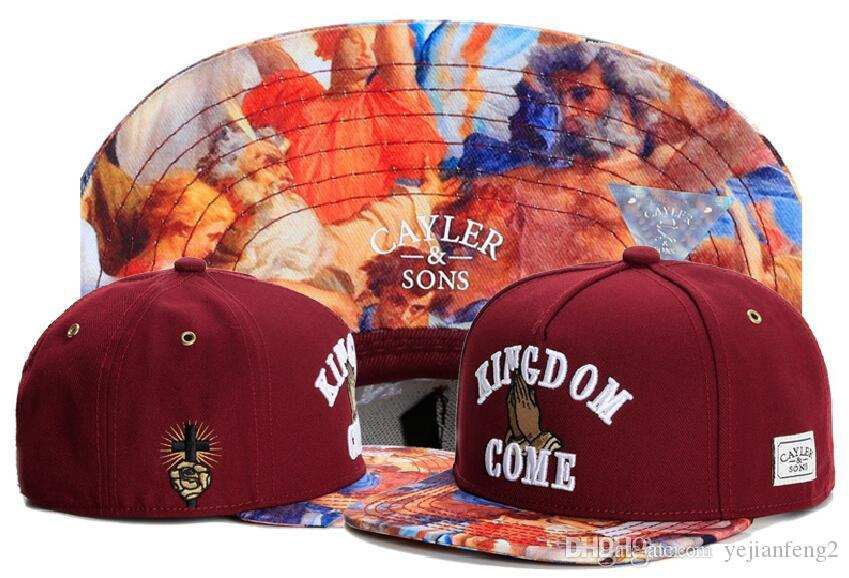 Adjustable CAYLER & SONS snapbacks Hats snapback caps Cayler and sons hat baseball hats last kings cap hater diamond snapback cap