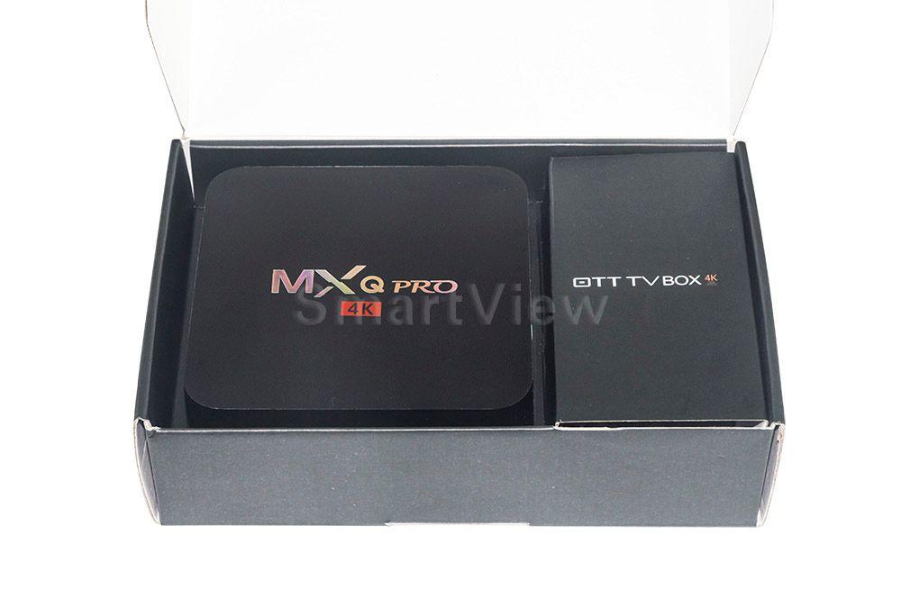 Original MXQ Pro Amlogic S905X Quad Core Andorid 6.0 TV BOX 1GB/8GB 2.4GHz WiFi H.265 Full HD Media Player Set top box IPTV BOX