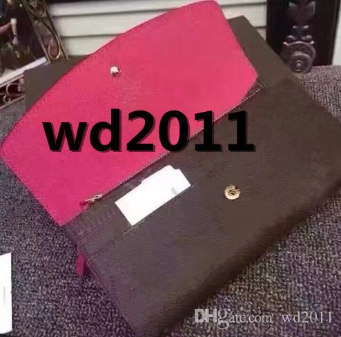 original box luxus echt leder multicolor geldbörse datum code kurze brieftasche kartenhalter frauen mann klassische reißverschlusstasche