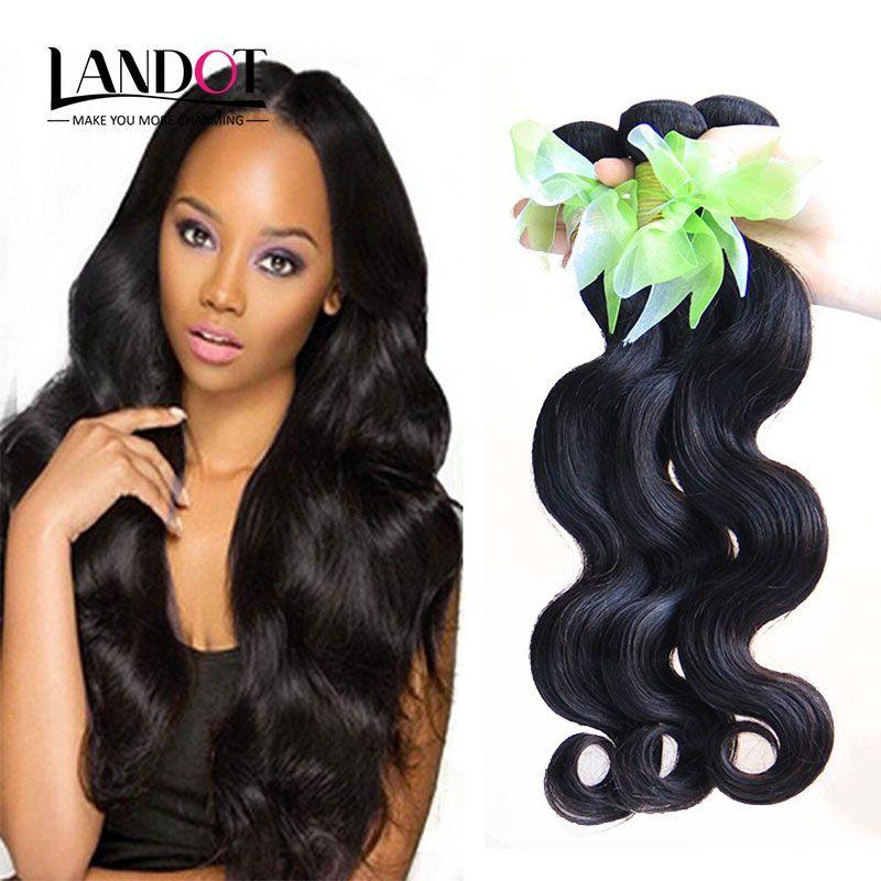 Virgin Brazilian Hair Body Wave 100 Remy Human Hair Weave